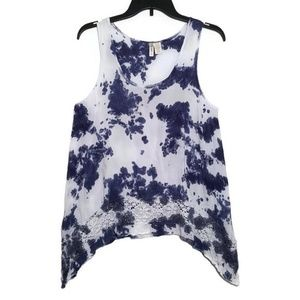 Japna | tie dye sleeveless top sz S